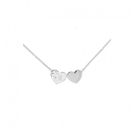 Necklaces White gold and diamond