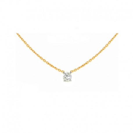 Collares de Oro y diamante