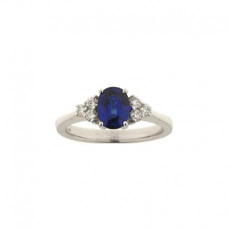 Goldring Diamant- und Saphir-