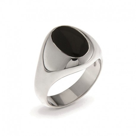 Men's Ring in Sterling Silver
