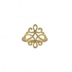 Anillo de plata del Arabesque 925/1000