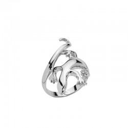 Ring aus Silber 925/1000 Salamander