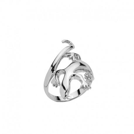 Anillo de plata 925/1000 salamandra