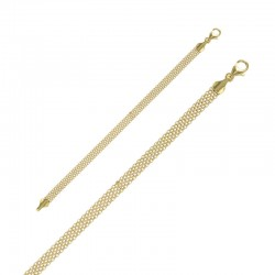 Bracelet in gold plated silver 925/1000