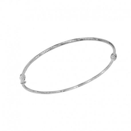 gestreifter Silberring 925/1000