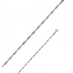 Bracelet maille Singapour 925/1000
