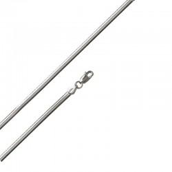 925/1000 Oval Snake Link Bracelet