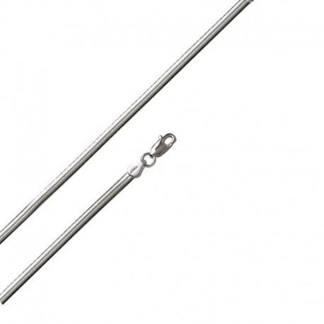 Armband oval Mesh 925/1000 Schlange