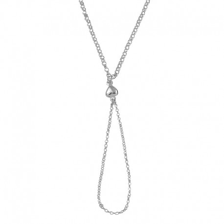 925/1000 Ring Armband Herz