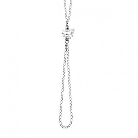 Armband-Ring Pferd 925/1000