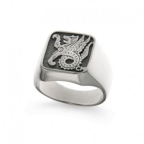 Men's Ring in Sterling Silver 925