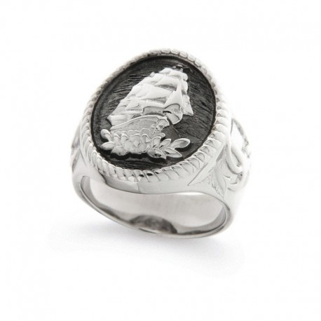 Men's Ring in Sterling Silver 925