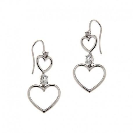 Ohrringe 925 Silber und Zirkonia
