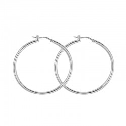 Hoops in Silver 925 threads 2 mm