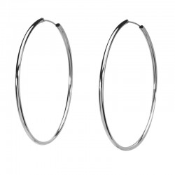 Hoops in Silver 925 threads 2.5 mm