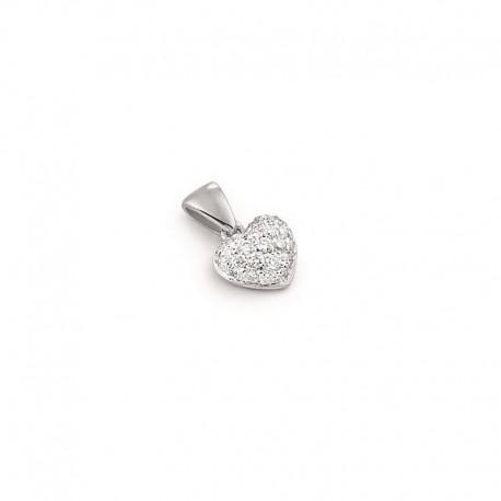 Pendentif en or avec diamants
