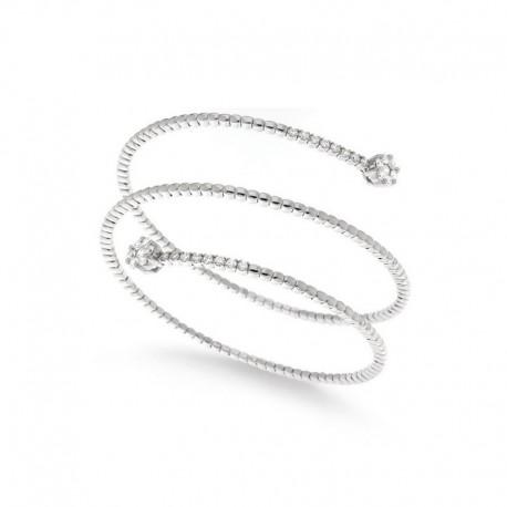 Brazalete de oro 18k - 18cm con diamantes