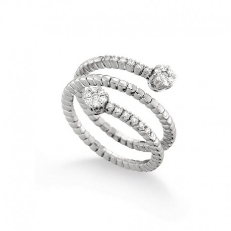 Ring 18 Karat Gold und Diamanten